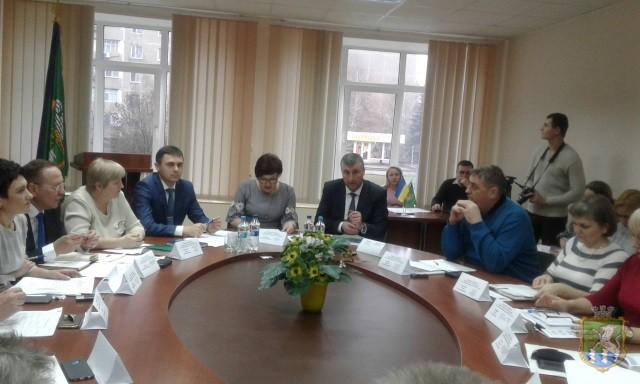 В Южноукраинске представили проект Перспективного плана развития на 2019 – 2021 годы