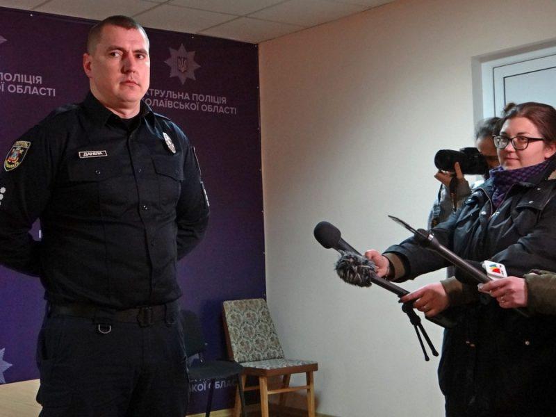 Начальник патрульной полиции заявил, что видеофиксация не подтверждает слова николаевцев об избиении сотрудниками ТОРа