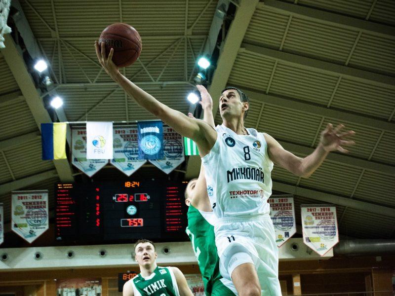 МБК «Николаев» потерпел очередное поражение, на этот раз от БК «Запорожье»