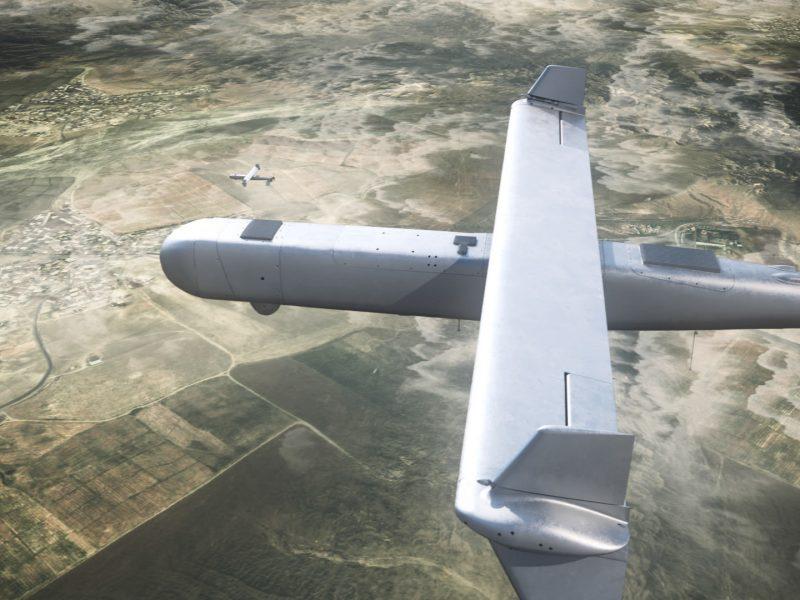 Израильский концерн представил дрон-камикадзе