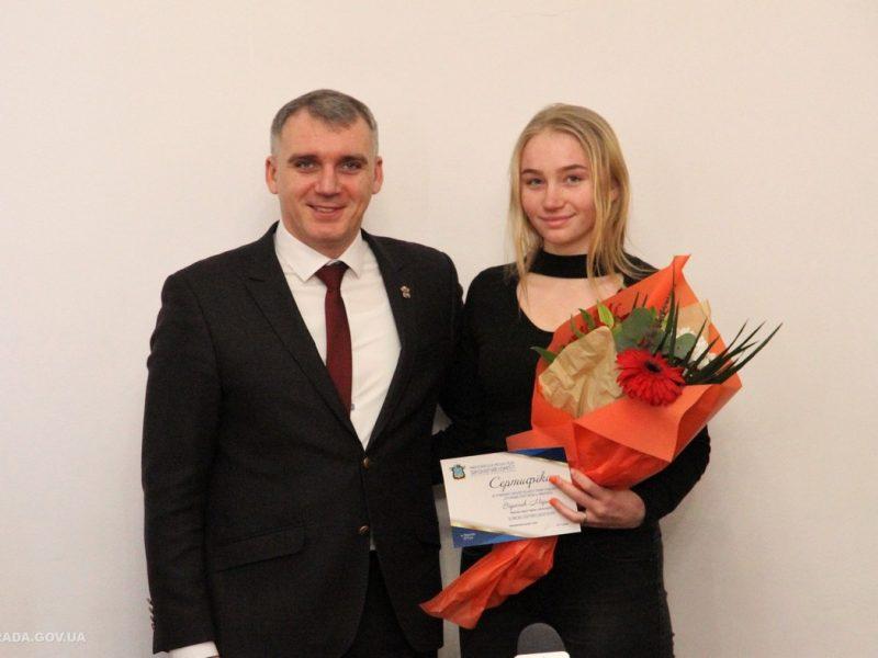 Более полусотни спортсменов Николаева получили стипендии мэра и городского совета
