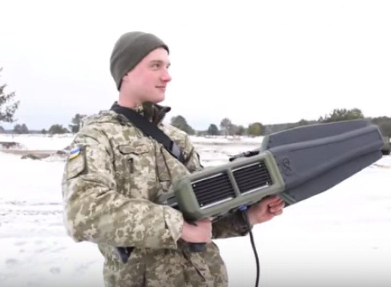 Украинские военные испытали радиокомплекс, который может блокировать дроны