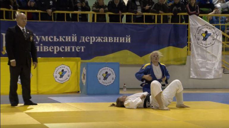 Николаевская дзюдоистка Анна Антикало стала чемпионкой Украины