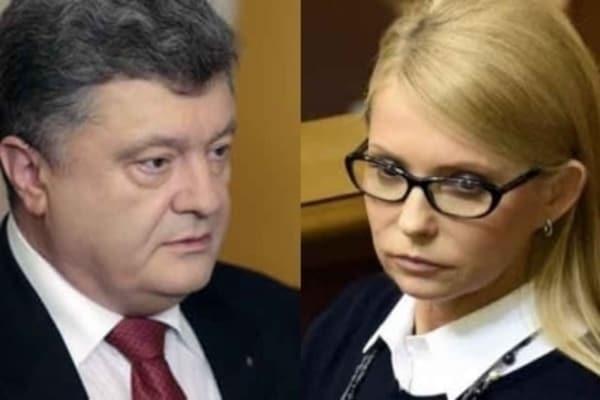 Синхронное плавание. Порошенко и Тимошенко подали законопроекты об ответственности за незаконное обогащение