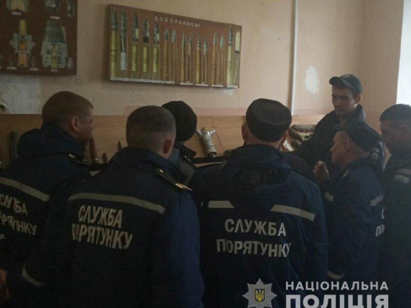 Николаевские взрывотехники и спасатели усовершенствовали свои знания о современных взрывных устройствах