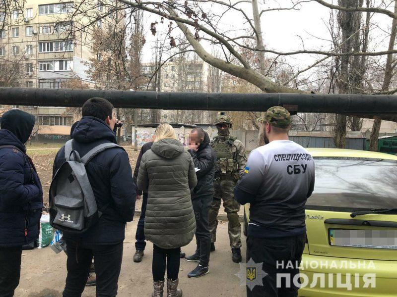 В Николаеве полиция, КОРД и СБУ задержали банду вымогателей