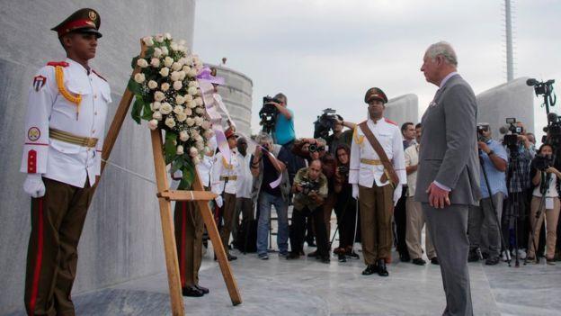 Члены британской королевской семьи впервые в истории посетили Кубу