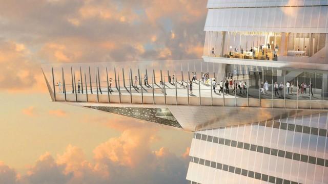 В Нью-Йорке построят самую высокую смотровую площадку западного полушария
