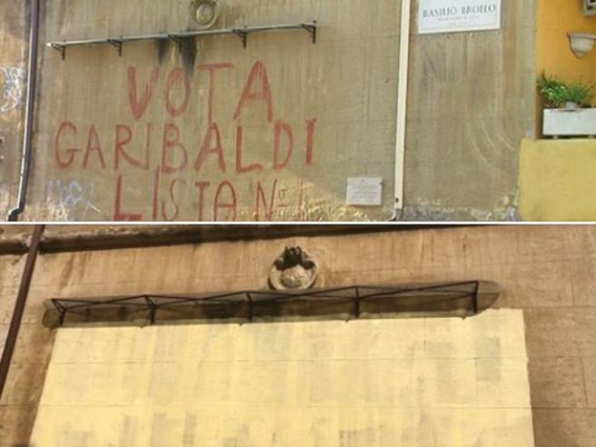Хорошо терли: в Риме коммунальные службы смыли исторические граффити