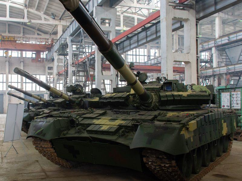 Харьковский бронетанковый завод модернизировал танк Т-80