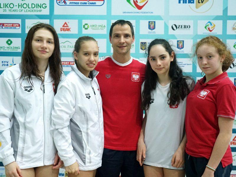 Команда Николаевской области стала второй на Открытом Кубке Украины по прыжкам в воду