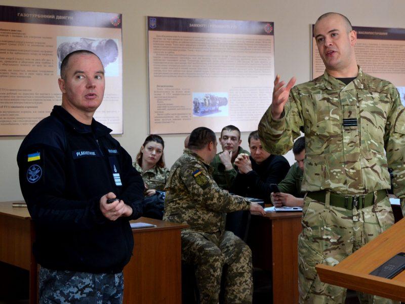 В Николаеве продолжают планировать первые совместные учения украинских морпехов и британских авиаторов