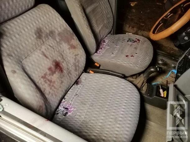 В Кривом Роге обстреляли такси, трое ранены