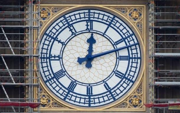В Лондоне показали обновленный циферблат Биг-Бена