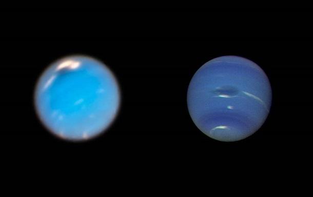 Hubble снял рождение гигантского шторма на Нептуне
