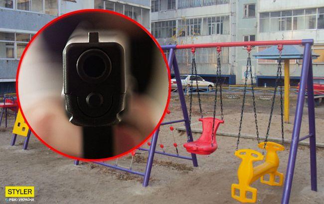 Мужчина безнаказанно обстрелял из окна детей во дворе, которые слишком шумели