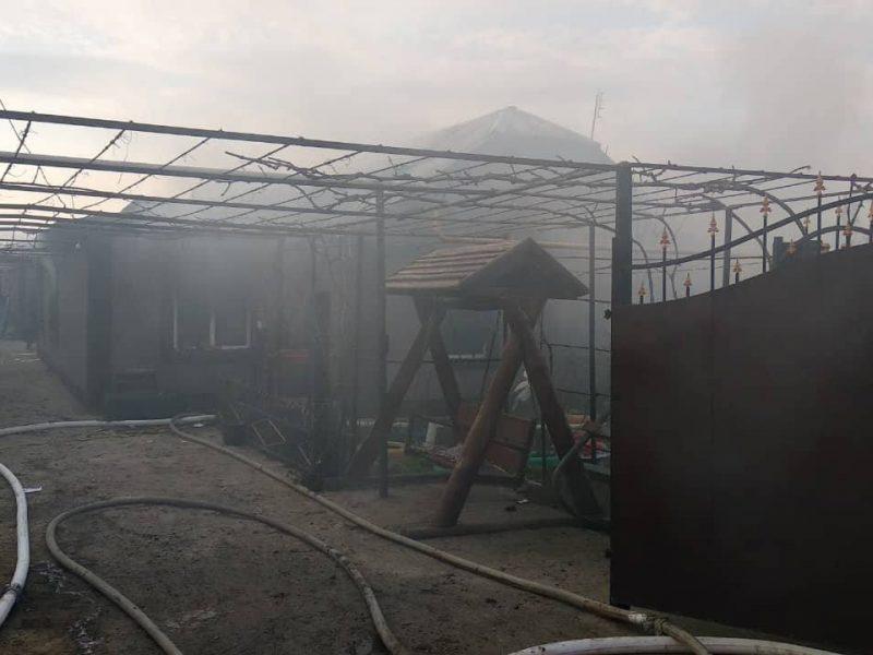 На Николаевщине на пожаре погиб четырехлетний ребенок