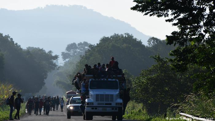 В Мексике грузовик с мигрантами упал в овраг, погибли 25 человек