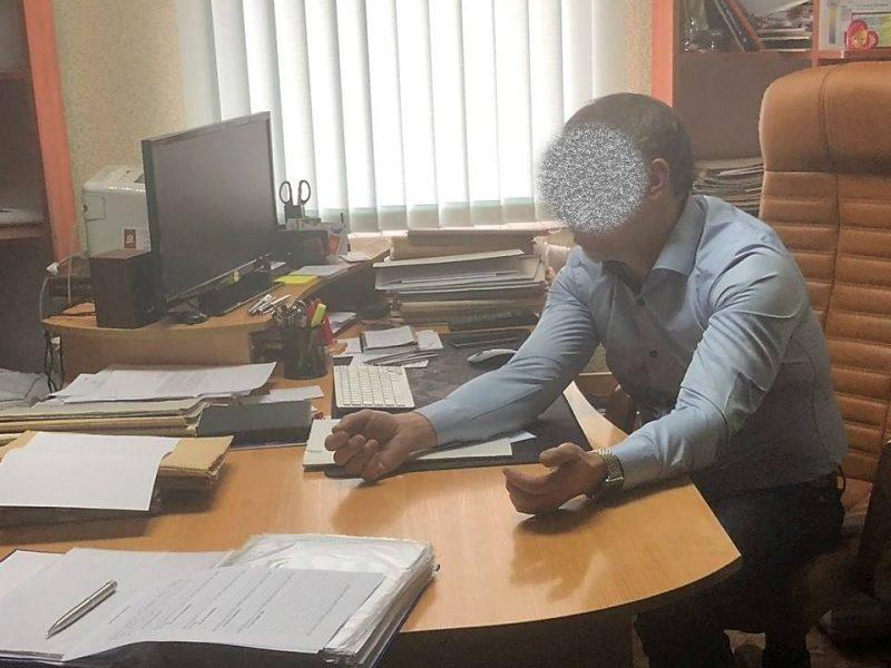 СБУ задержала директора одного из КП Вознесенска на взятке в 108 тысяч гривен