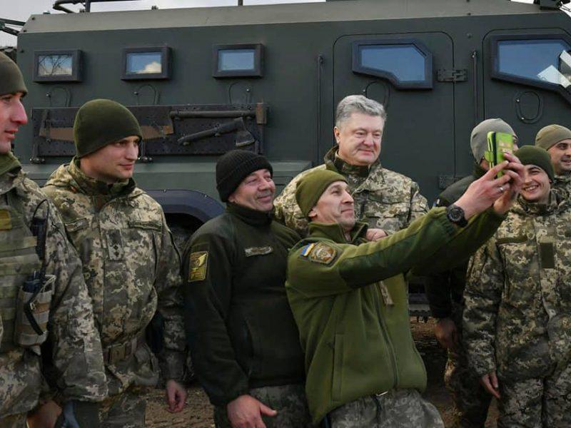 Президент Украины вручил награды бойцам 79-й Николаевской ОДШБр на передовой