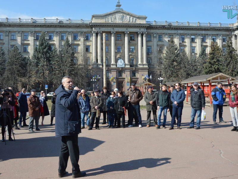 """В Николаеве активисты потребовали от мэра Сенкевича извинений за """"маргариновый скандал"""""""