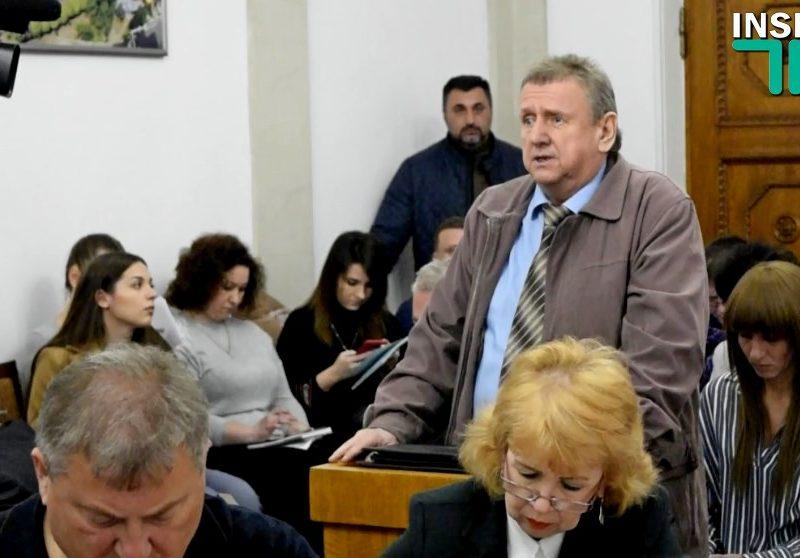 Мэр Николаева пообещал перерыть дорогу к портовому элеватору, если те не компенсируют ущерб от «пылевой атаки»