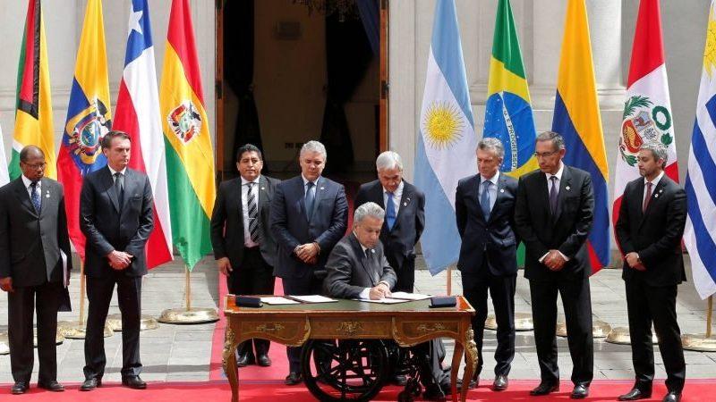 Южноамериканские страны создали новый региональный блок
