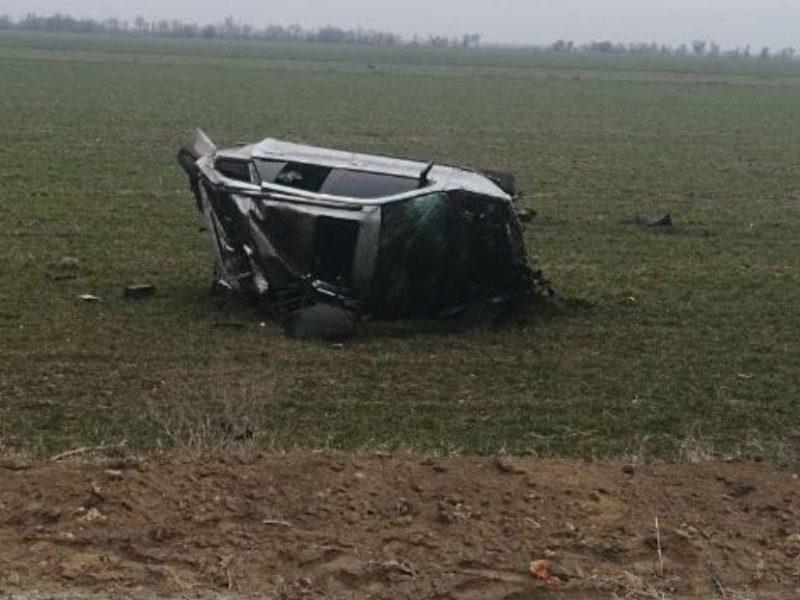На Николаевщине BMW вылетел в кювет: водитель погиб на месте