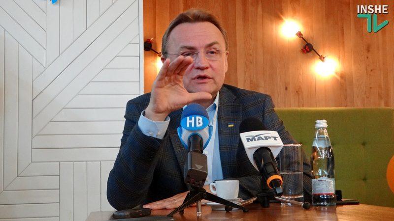 О компенсации за снятие с президентской гонки и премьерских амбициях – Андрей Садовой в Николаеве