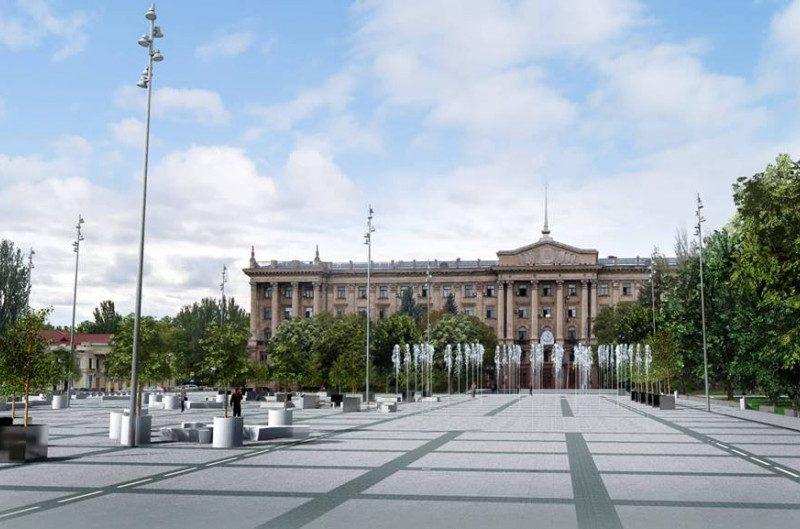 ДСК выбыл, кому достанется тендер на реконструкцию главной площади Николаева