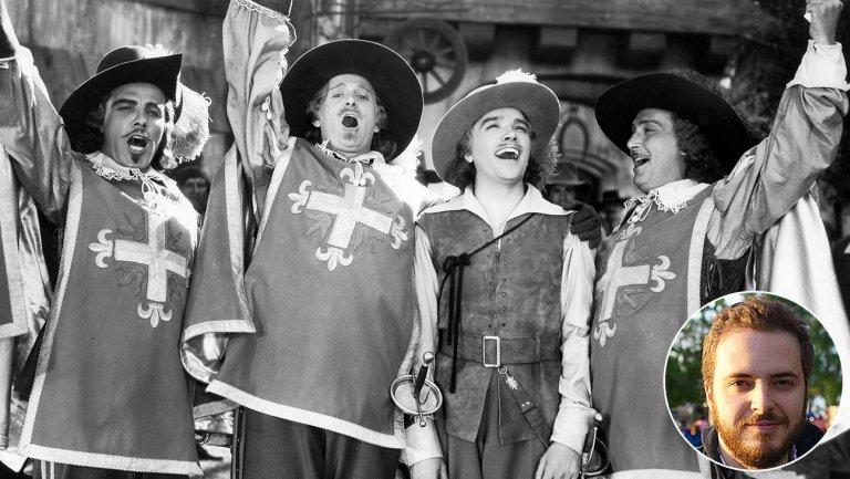 Netflix снимет современную версию «Трех мушкетеров»
