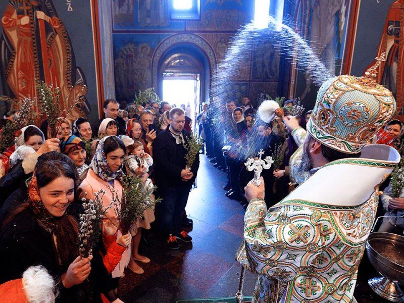 Митрополит Епифаний впервые провел литургию с сурдопереводом