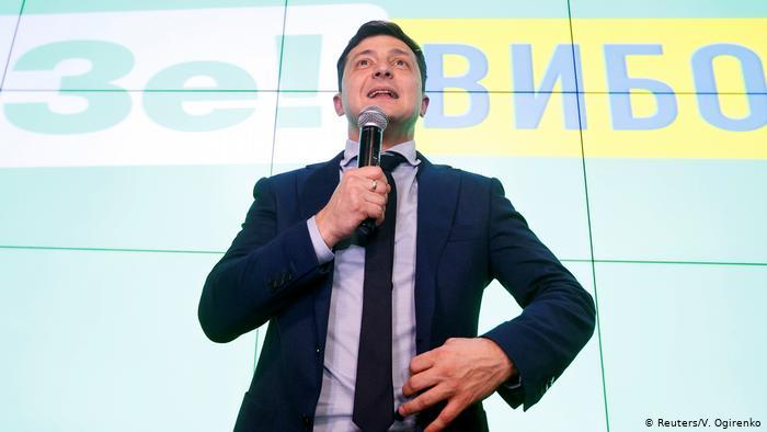 Кандидат в президенты Украины Владимир Зеленский представил всю свою команду, с которой будет работать в дальнейшем