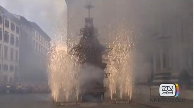 Завтра у католиков – Пасха: в итальянской Флоренции проведут ритуал «Взрыв повозки»
