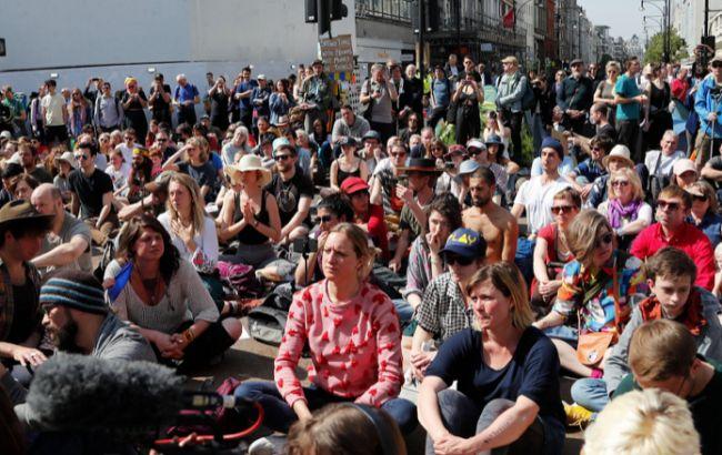 Экологические протесты в Британии: задержано свыше 700 человек