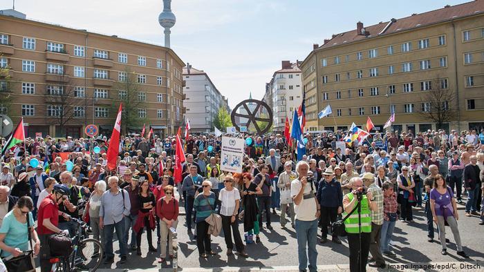 В Германии прошли «пасхальные марши»