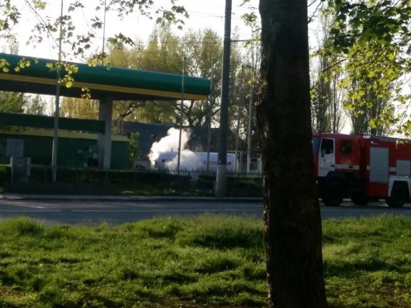 Названа причина вчерашней утечки газа на автозаправочной станции в Николаеве