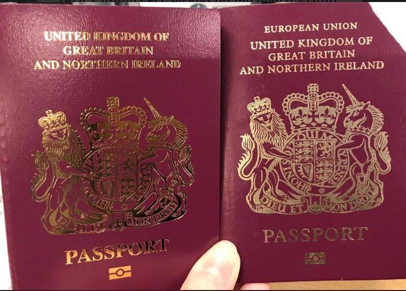 Если судить по новым паспортам британцев, то Brexit уже наступил