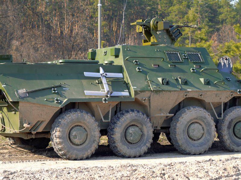 В Украине новая командно-штабная машина БТР-3КШ готовится к заводским испытаниям
