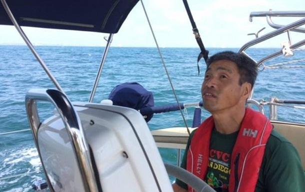 Незрячий японец пересек Тихий океан на яхте