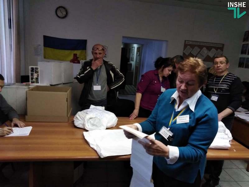 В Николаеве 129-й окружком пересчитал бюллетени на участке, протокол с которого был странным образом похищен 7