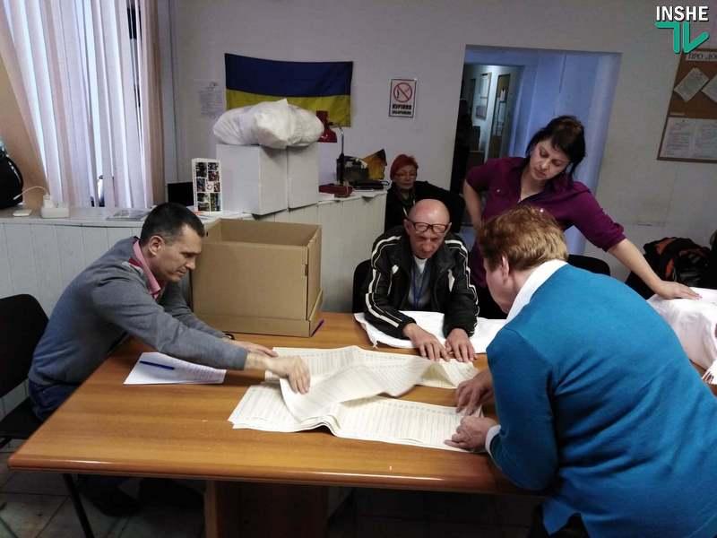 В Николаеве 129-й окружком пересчитал бюллетени на участке, протокол с которого был странным образом похищен