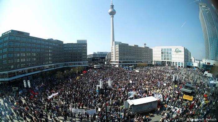 В Германии – массовые протесты против подорожания аренды квартир