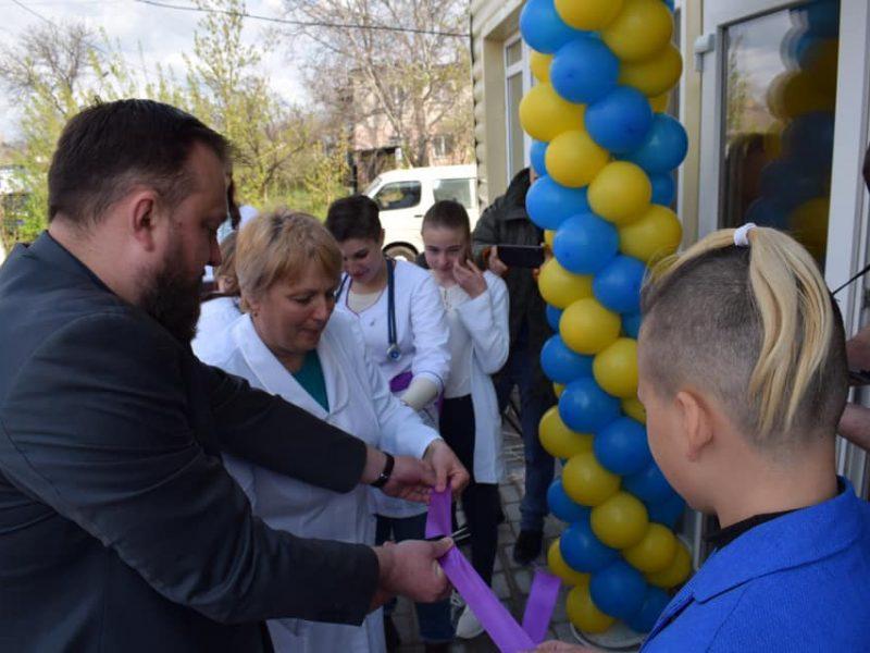 На Николаевщине открылась еще одна сельская амбулатория
