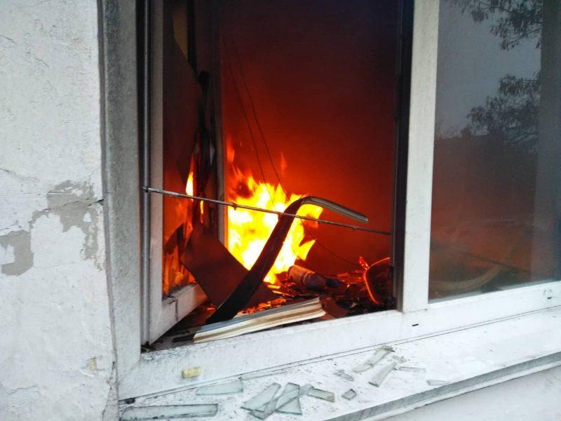 На Николаевщине сегодня утром тушили пожар в школе – подозревают поджог