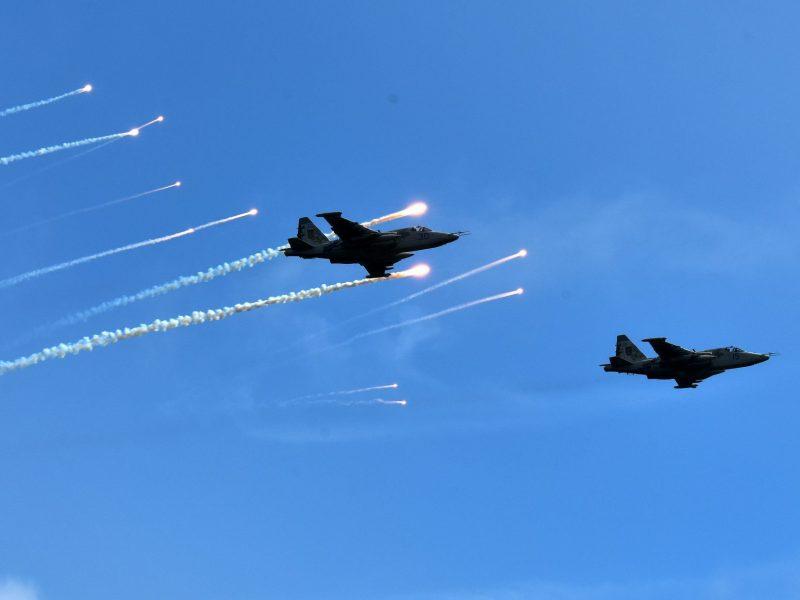 Силы ООС провели учения по отражению авиаударов и противовоздушной обороне
