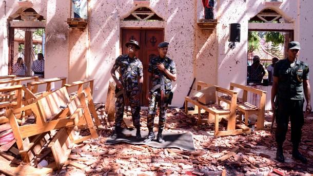 Взрывы на Шри-Ланке: полиция задержала 24 подозреваемых