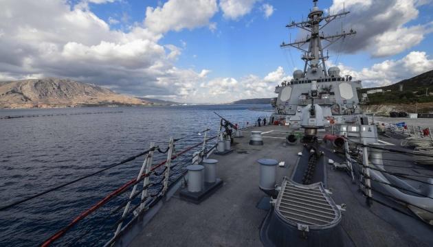 """Российские корабли """"пасут"""" вошедший в Черное море эсминец ВМС США"""