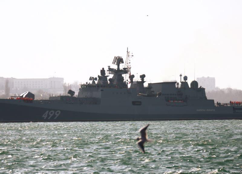 Ракетные корабли РФ провели стрельбы в Черном море