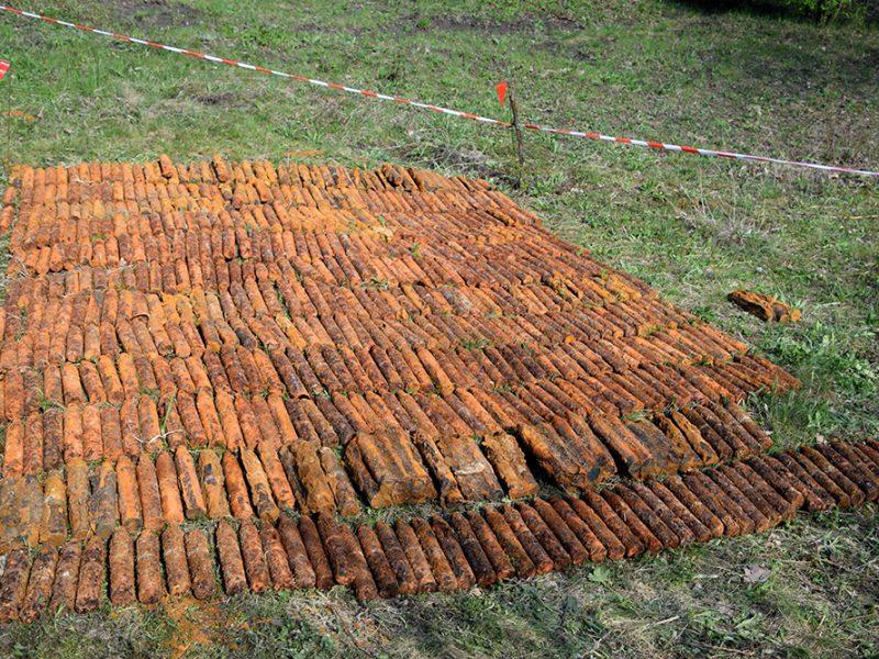 На Николаевщине пиротехники за несколько дней нашли более 1600 взрывоопасных предметов